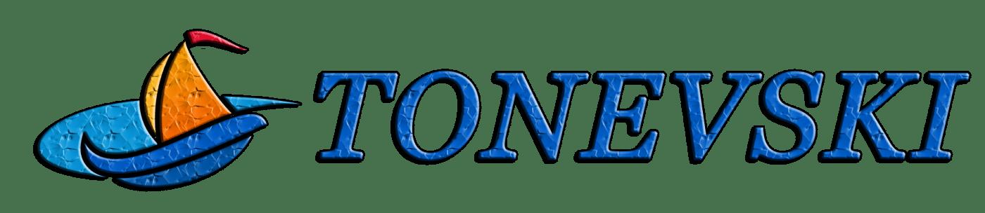 Уеб дизайн Тоневски лого
