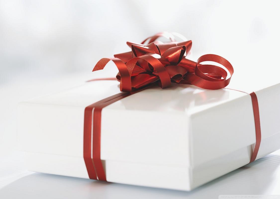 Романтична изненада за подарък.