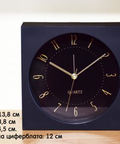 Настолен часовник с будилник квадрат