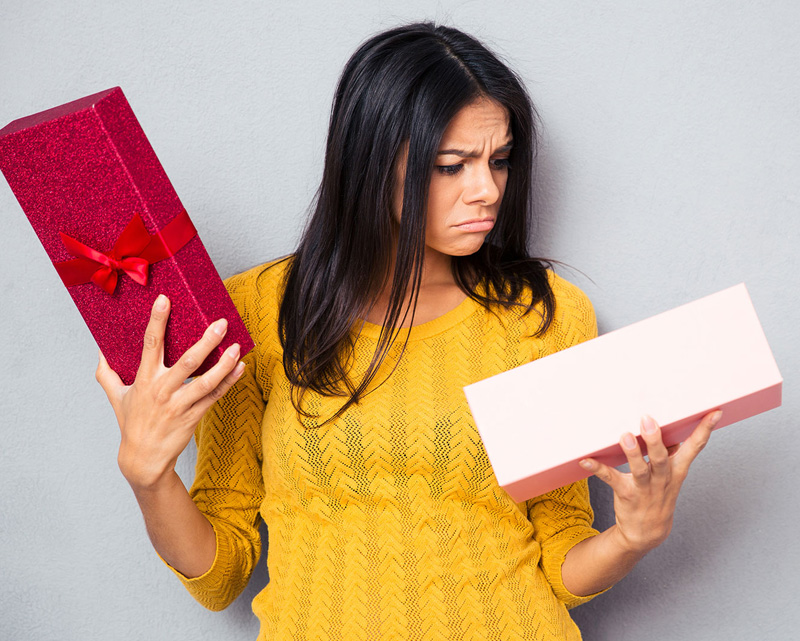 Как да реагираме на подарък, който не харесваме?