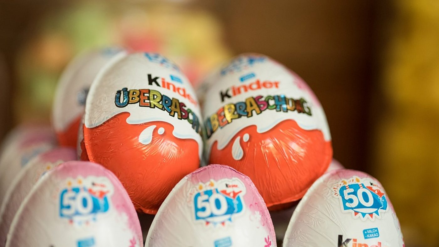 яйце Kinder Surprise