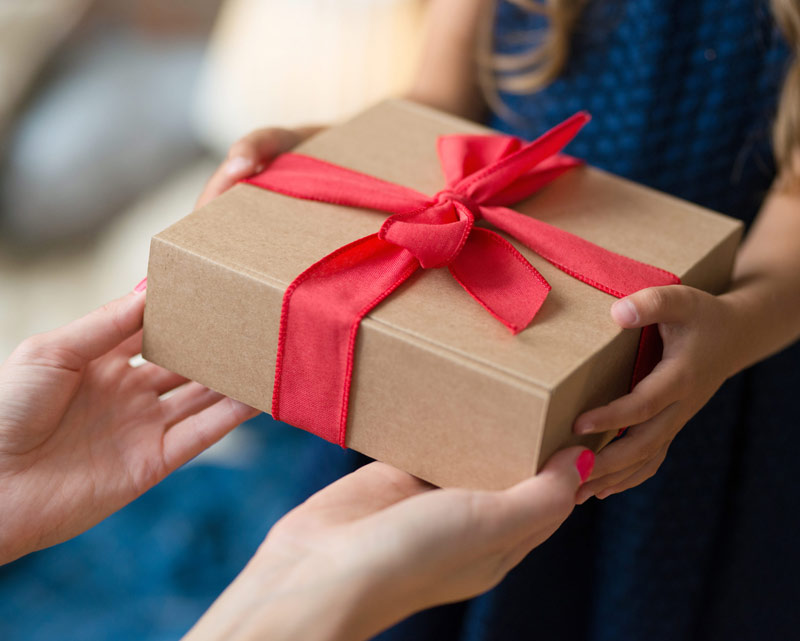 Пътеводител при избора на подаръци - презентация