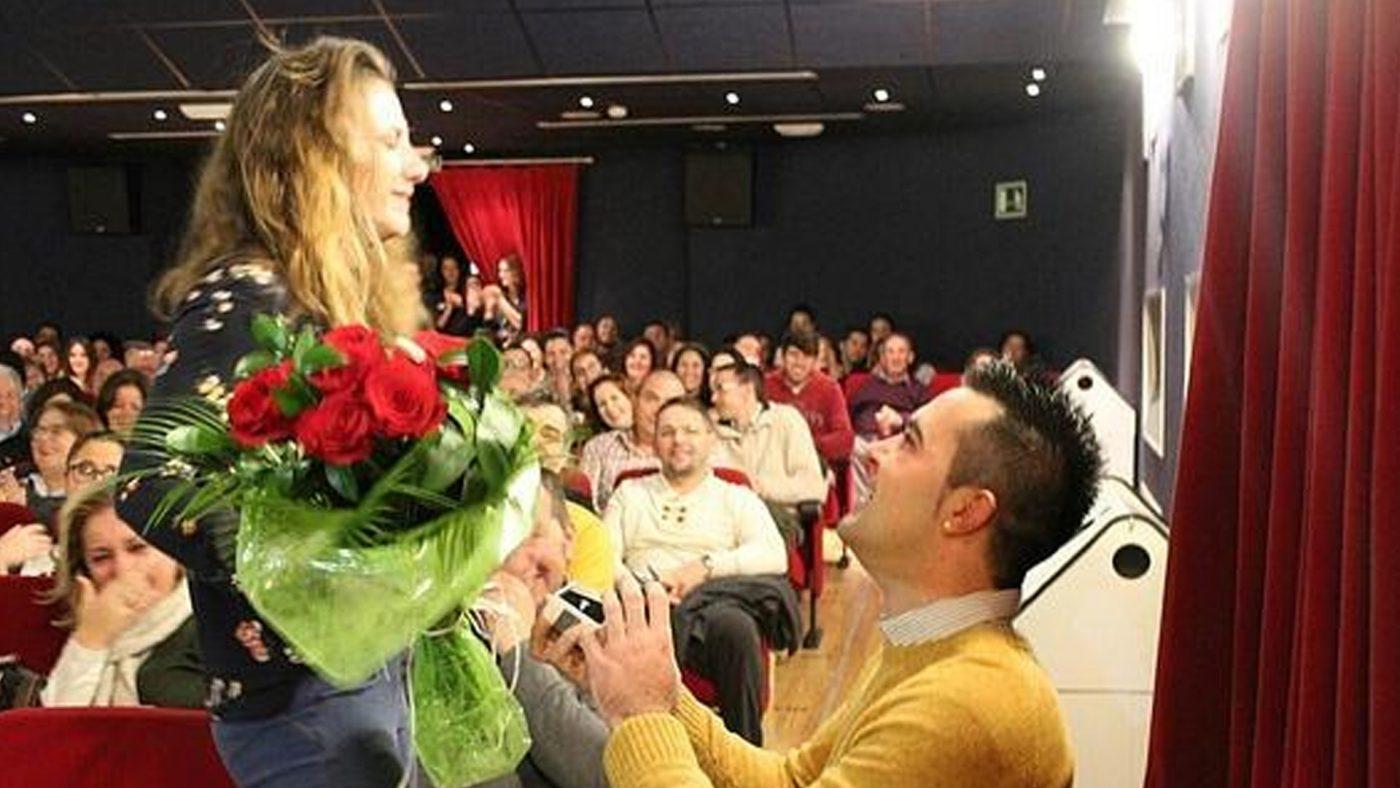 Предложение за брак в киното